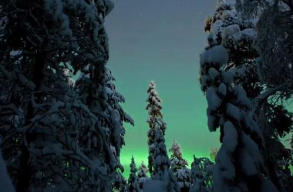 Βίντεο-Το εντυπωσιακό Βόρειο Σέλας