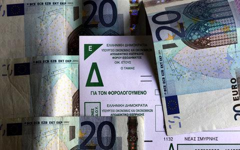 Λογαριασμός της Εφορίας σε 500.000 ιδιοκτήτες ακινήτων – Σχέδιο για  εξόφληση σε 10 μηνιαίες δόσεις