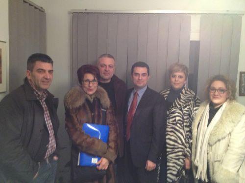 Συνάντηση Κώστα Σκρέκα με τους εκπροσώπους του Συλλόγου Κέντρων Ξένων Γλωσσών