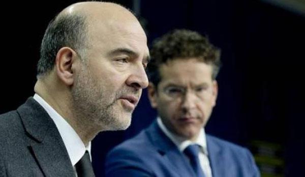 Μοσκοβισί: Το Eurogroup δεν συζητά δημοσιονομικά μέτρα για μετά το 2018