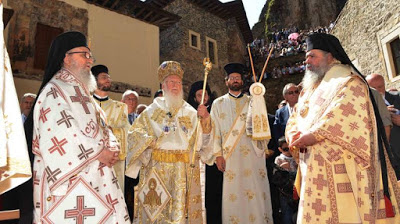 Όχι των Τούρκων για Θεία Λειτουργία στην Παναγία Σουμελά στην Τραπεζούντα
