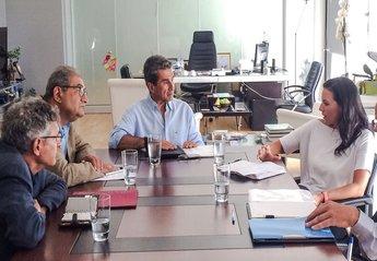 25-08-14 Συνάντηση Υπουργού Παιδείας και Θρησκευμάτων, Ανδρέα Λοβέρδου με Υπουργό Τουρισμού κα Όλγα Κεφαλογιάννη