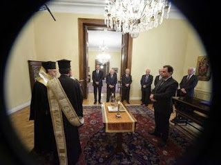 Ορκίστηκε ο νέος Yφυπουργός Παιδείας Γ. Γεωργαντάς