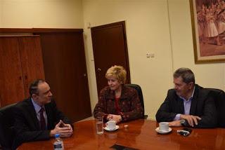 Η Υφυπουργός, Μαρία Κόλλια-Τσαρουχά, στο Α – Τ.Ε.Ι. Θεσσαλονίκης