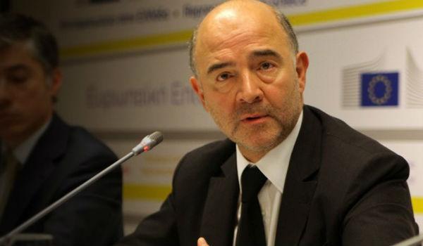 Μοσκοβισί: Οι δανειστές θα καθορίσουν πόσα χρόνια θα κρατήσει το 3,5%