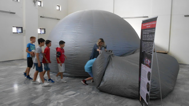 Το Κινητό Πλανητάριο Starlab επιστρέφει στην Αλεξανδρούπολη