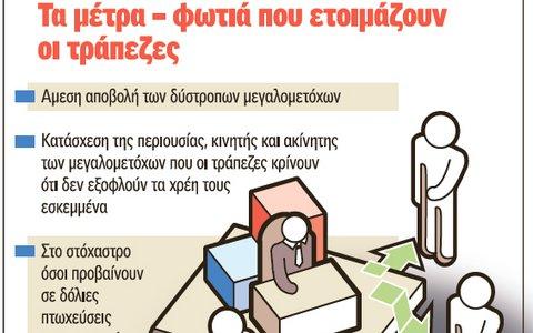 Κατάσχονται περιουσίες για δόλιες πτωχεύσεις και κακοπληρωτές