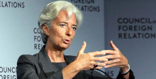 Λαγκάρντ: Υποχωρούν οι κίνδυνοι για την ανάπτυξη της Ευρωζώνης