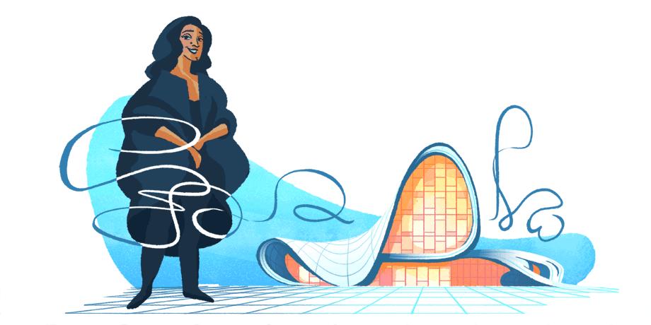 Ζάχα Χαντίντ: Ποιά είναι η γυναίκα – θρύλος που τιμά με doodle η Google