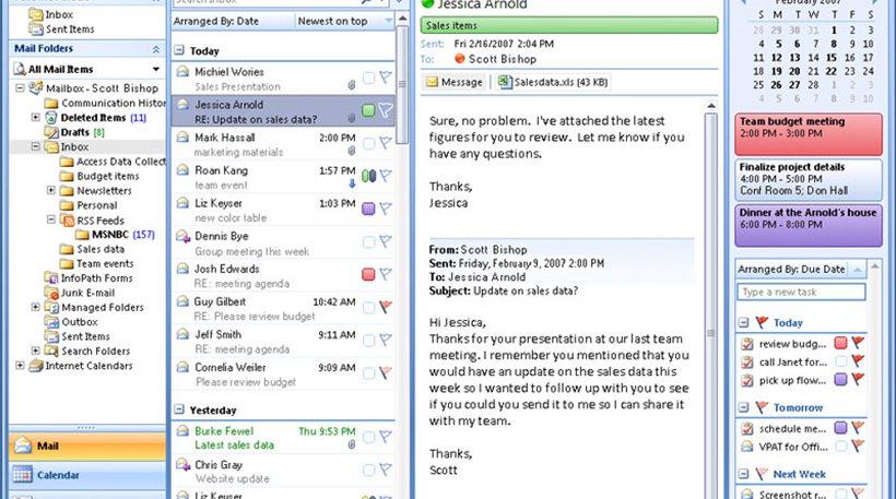 Microsoft: Προβλήματα με το Outlook αντιμετωπίζουν οι χρήστες
