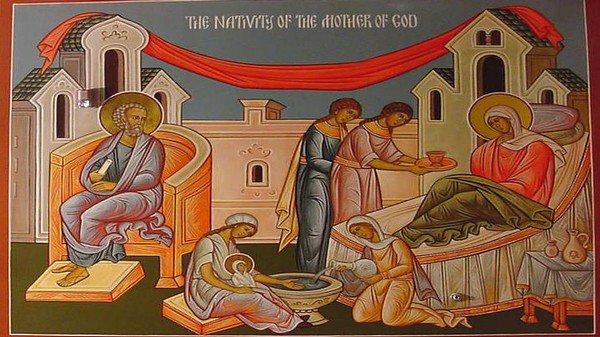 8 Σεπτεμβρίου: Γέννηση της υπεραγίας Θεοτόκου