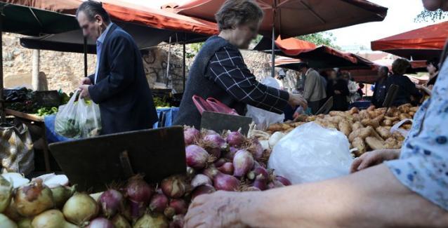Κουπόνια σε μονογονεϊκές οικογένειες για την αγορά προϊόντων από τις λαϊκές αγορές