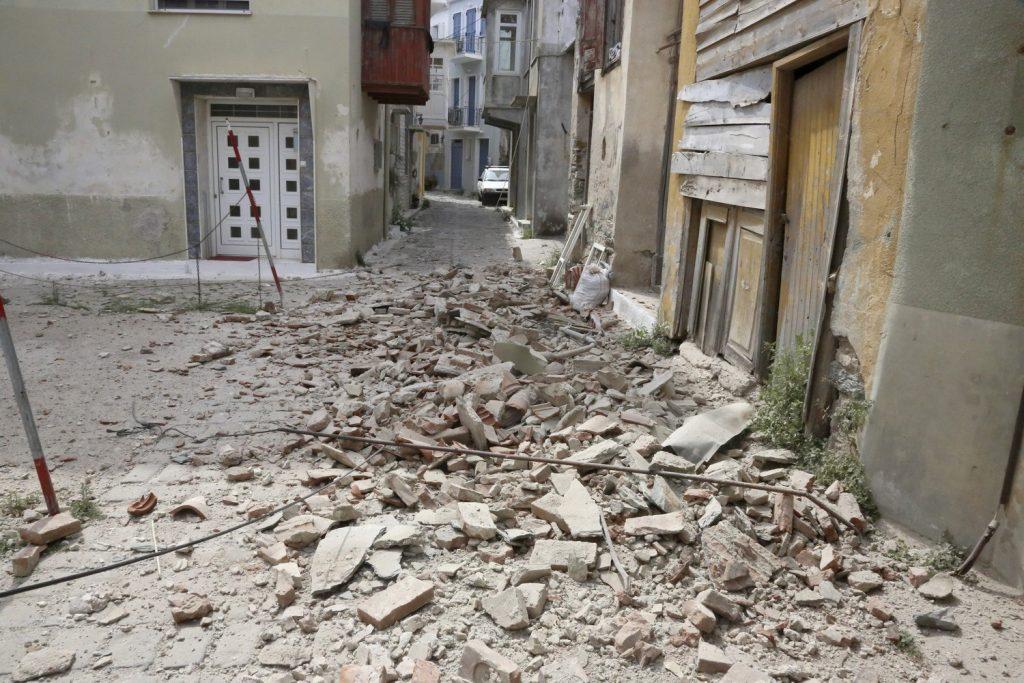 Λέσβος: Ξαναχτύπησε το κουδούνι στο σχολείο της Βρίσας -Είχε καταστραφεί από τον σεισμό
