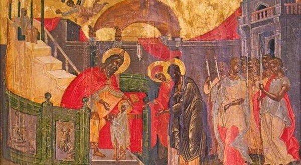 Τα Εισόδια της Θεοτόκου- δώδεκα χρόνια στον Ναό! (διήγηση για παιδιά)