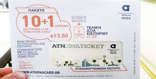 Πωλείται και στα περίπτερα πλέον το ηλεκτρονικό εισιτήριο