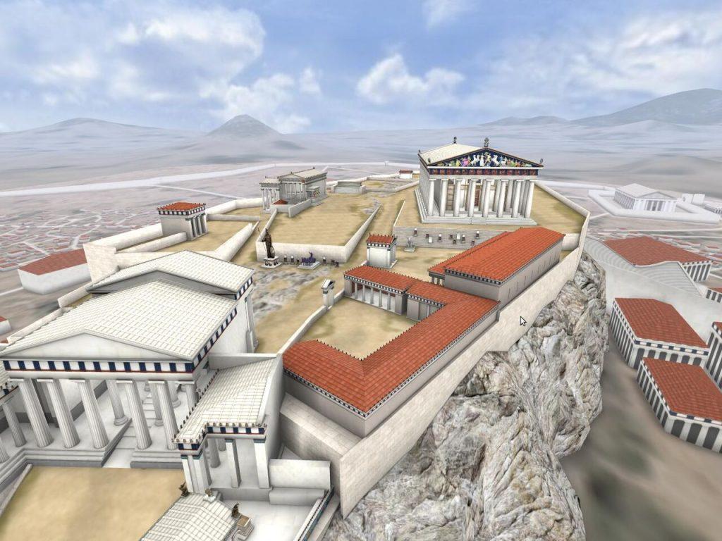 Διαδραστική περιήγηση στην Ακρόπολη της εποχής του Περικλή στη «ΘΟΛΟ» του Κέντρου Πολιτισμού «Ελληνικός Κόσμος»