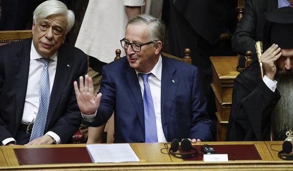 Γιούνκερ:  Η Ελλάδα σηκώνει κεφάλι και γυρίζει σελίδα – Συνεχίστε