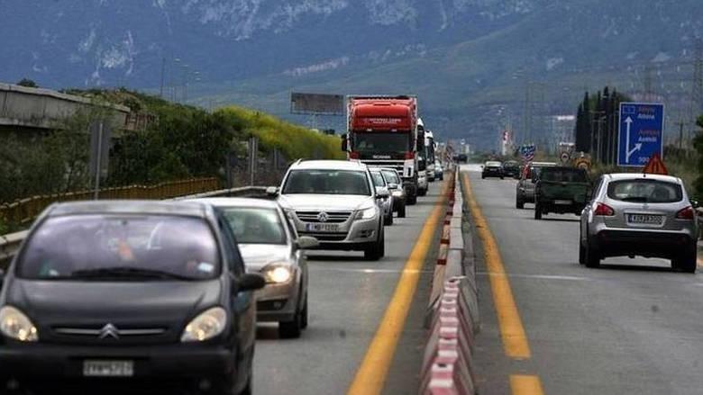 Ιδιαίτερα αυξημένη η κίνηση στις εθνικές οδούς λόγω επιστροφής του Πάσχα