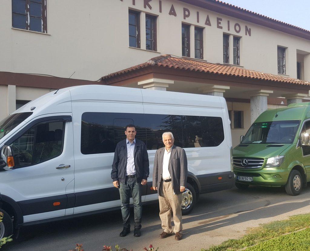 Διασφαλίστηκε για άλλες δυο σχολικές χρονιές η δωρεάν μεταφορά μαθητών ΑμεΑ στο Σικιαρίδειο Ίδρυμα