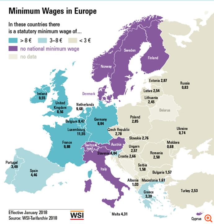 Κατώτατος μισθός - Ελλάδα