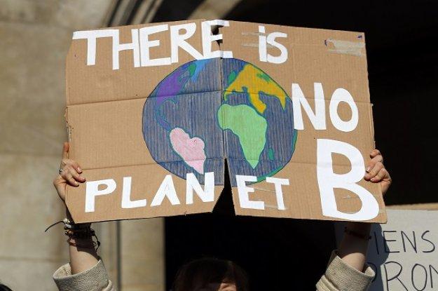 Μαθητική διαδήλωση κατά της κλιματικής αλλαγής στο Αμβούργο