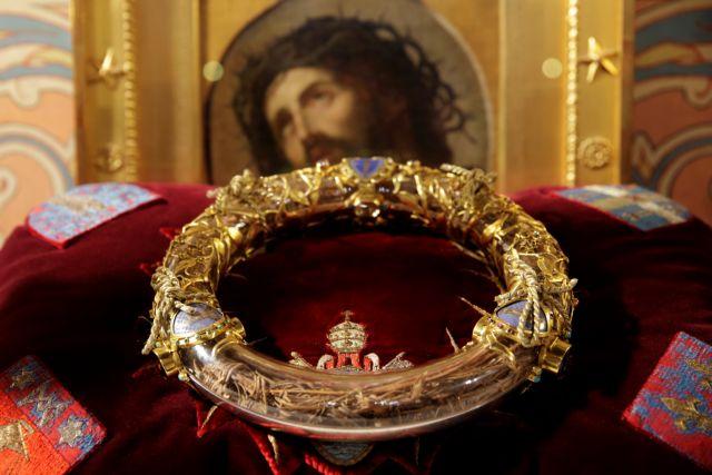 Παναγία των Παρισίων: Σώθηκε το ακάνθινο στεφάνι του Χριστού – Η ιστορία του μοναδικού κειμηλίου