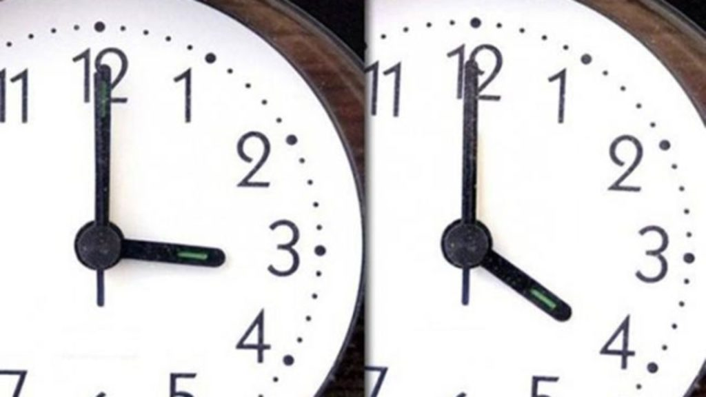 Αλλαγή ώρας: Προσοχή! Δείτε πότε αλλάζει η ώρα