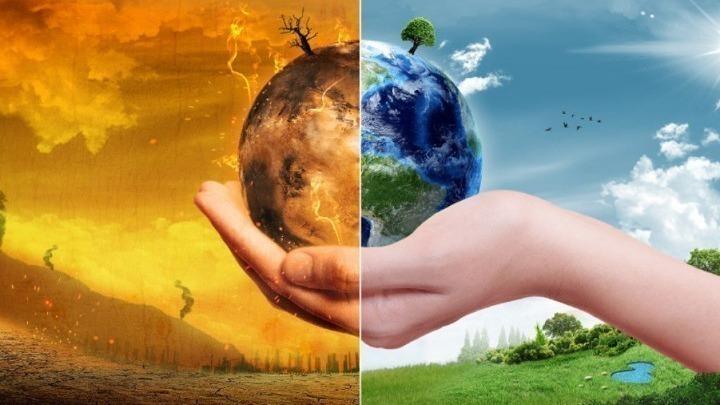 Ολοκληρώθηκε η μαθητική πορεία για την κλιματική αλλαγή