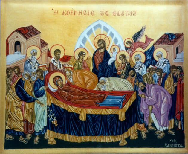 Για τη Μάνα μας Παναγία ( Ιερεμίας Γόρτυνος )