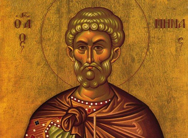 Άγιος Μηνάς – Εορτή 11/11: Ο βίος του Αγίου που έζησε και μαρτύρησε στην Αίγυπτο