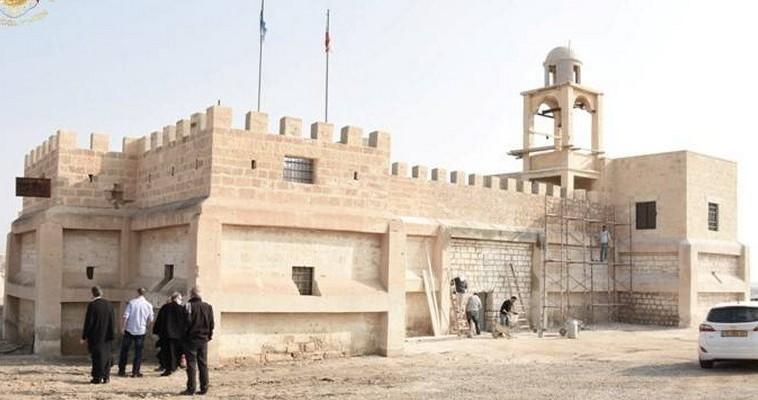 Στην όαση της Μονής Αγίου Ιωάννη του Προδρόμου, στην Ιορδανία