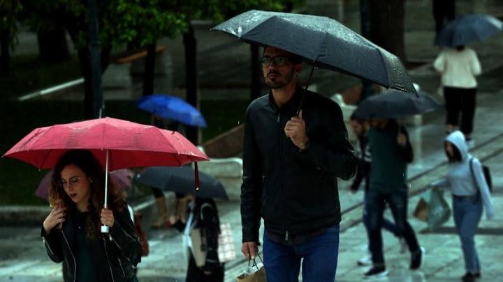 Έρχεται τετραήμερη κακοκαιρία με βροχές, καταιγίδες και χαλαζοπτώσεις - Περιοχές