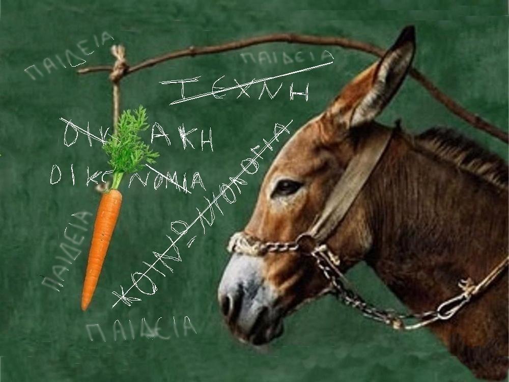 Σχολείο μαστιγίου και καρότου - Αυτό θέλουμε;