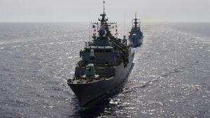 Τουρκία: Πολεμικά πλοία καταπλέουν στην ζώνη του Αιγαίου