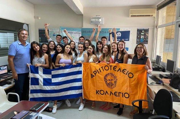 Πανευρωπαϊκό Βραβείο Καινοτομίας για την Eλληνική Μαθητική «Start Up» ΕCOWAVE!