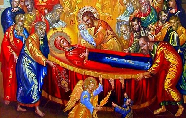 Δεκαπενταύγουστος - Κοίμηση της Θεοτόκου: Η μεγάλη γιορτή της ...