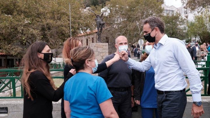Κ. Μητσοτάκης: Πρώτο μέλημα η φροντίδα της ακριτικής Ελλάδας και ειδικά των ακριτικών νησιών