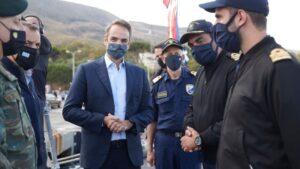 Μητσοτάκης: Να επιστρατεύσουμε τις ίδιες αρετές που έκαναν την Ελλάδα μεγάλη το 1940