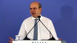 Κ. Χατζηδάκης: Μεγάλες επενδύσεις - Οι πέντε πυλώνες της ανάπτυξης