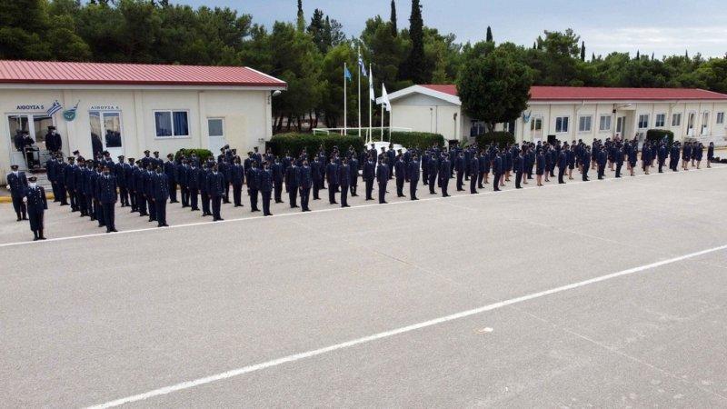 Τελετή Ορκωμοσίας Δοκίμων Σημαιοφόρων στη Σχολή Ναυτικών Δοκίμων