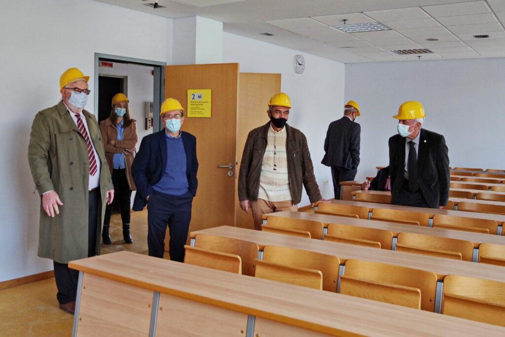 Προχωρούν οι εργασίες για τη μετεγκατάσταση του Πανεπιστημίου Πειραιώς στο «Σπίτι της Άρσης Βαρών»