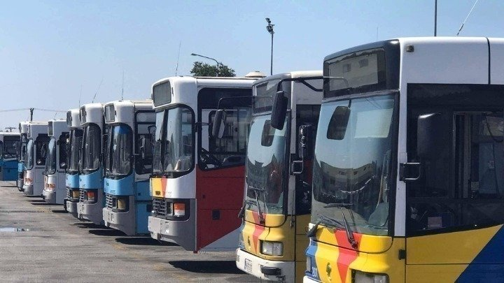 ΟΑΣΘ: Περισσότερα από 550 οχήματα στους δρόμους της πόλης