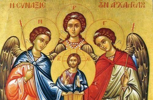Σύναξη Αρχαγγέλων Μιχαήλ και Γαβριήλ – Γιορτή 8 Νοεμβρίου