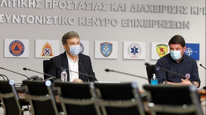 Χαρδαλιάς - Χρυσοχοϊδης: Τα NEA περιοριστικά μέτρα κατά της πανδημίας (video)