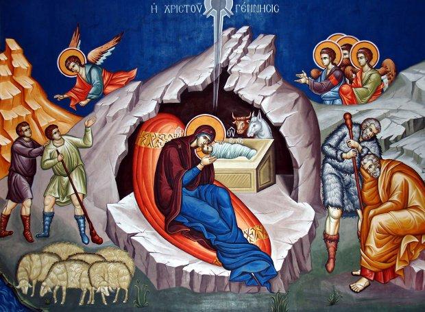 Ιερεμίας Φούντας: Νά είμαστε χαρούμενοι, γιά τό ότι ὁ Ἰησούς Χριστός σαρκώθηκε