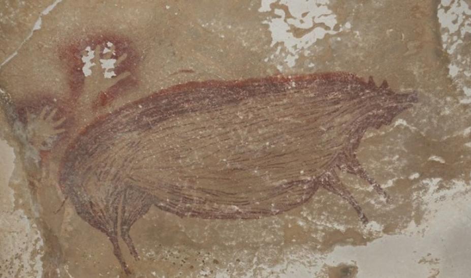 Ανακαλύφθηκε στην Ινδονησία η αρχαιότερη σπηλαιογραφία ζώου στον κόσμο