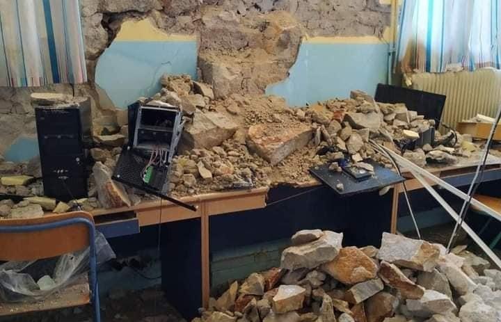 Σεισμός στην Ελασσόνα: Συνάντηση Χουλιάρα με την Νίκη Κεραμέως