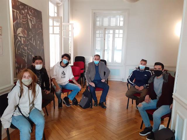 Δημόσια ΙΕΚ: Συνάντηση με το βουλευτή του ΚΚΕ, κ. Δελή Γιάννη
