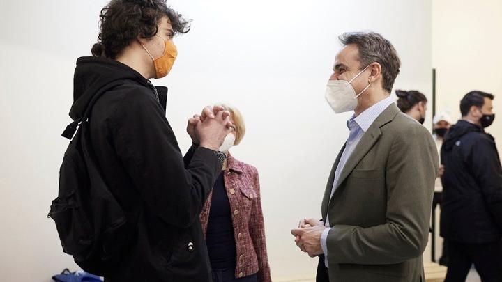 Κυριάκος Μητσοτάκης: Επισκέφθηκε το Εργαστήριο Ειδικής Επαγγελματικής Εκπαίδευσης Αγίου Δημητρίου
