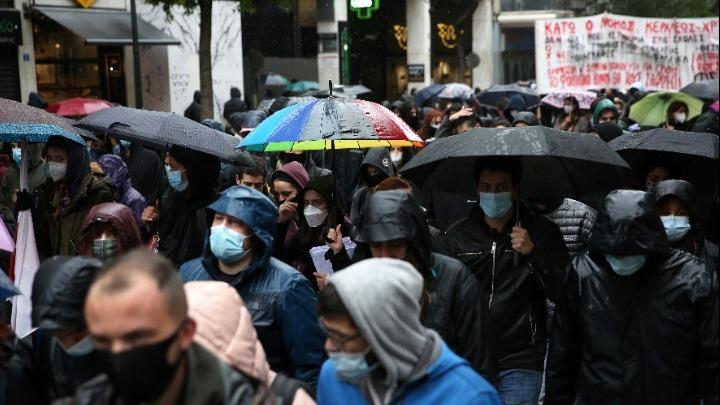Εκπαιδευτικό συλλαλητήριο στο κέντρο της Αθήνας